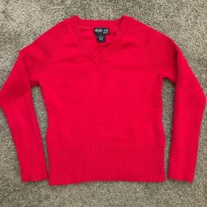 Vintage Style & Co red sweater